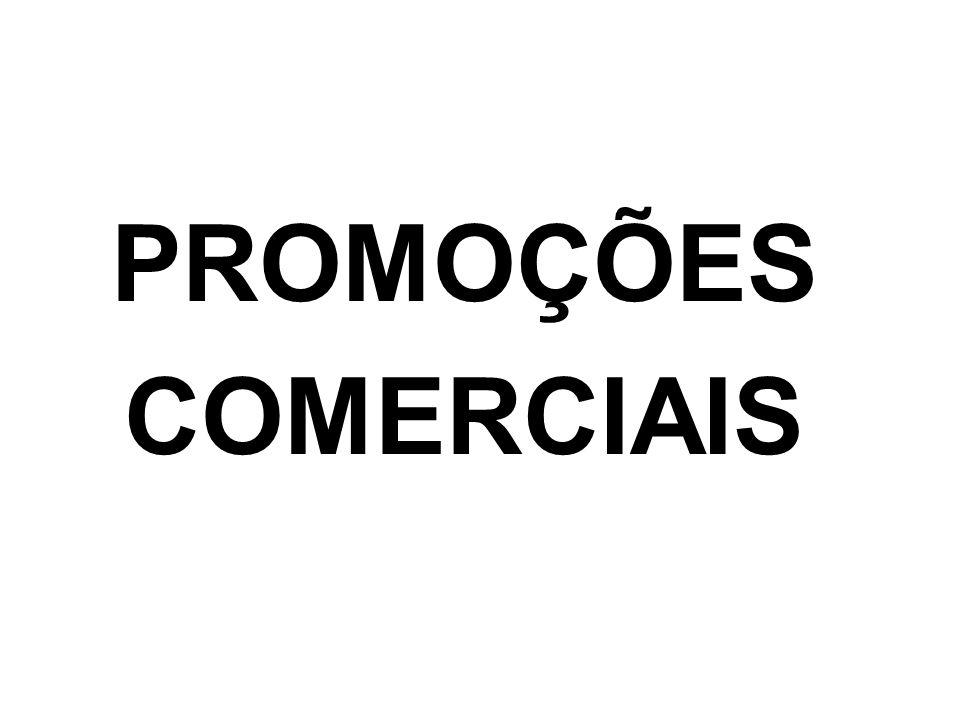 PROMOÇÕES COMERCIAIS
