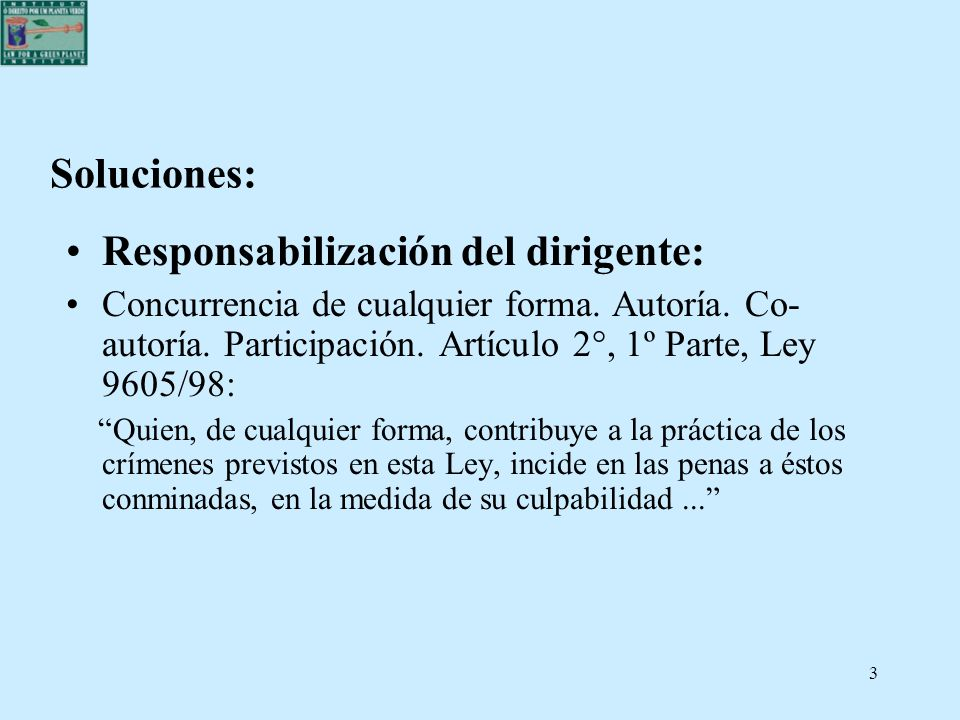 4 Soluciones: Responsabilización del dirigente: La realidad brasileña: concurrencia por omisión del dirigente de la persona jurídica en el crimen de outrem.
