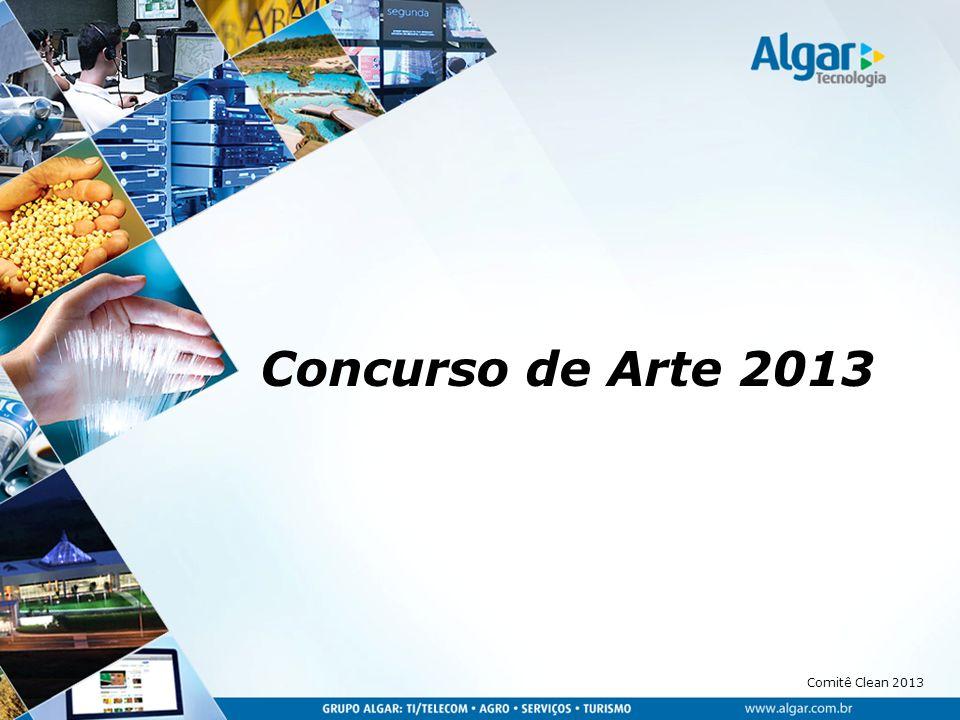 Comitê Clean 2013 Arte no ambiente de Trabalho!