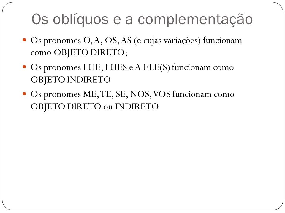 5. A República criou o brasileiro genérico e abstrato. (2 o parágrafo) O mesmo tipo de complemento verbal grifado acima está na frase: a)... esse espo