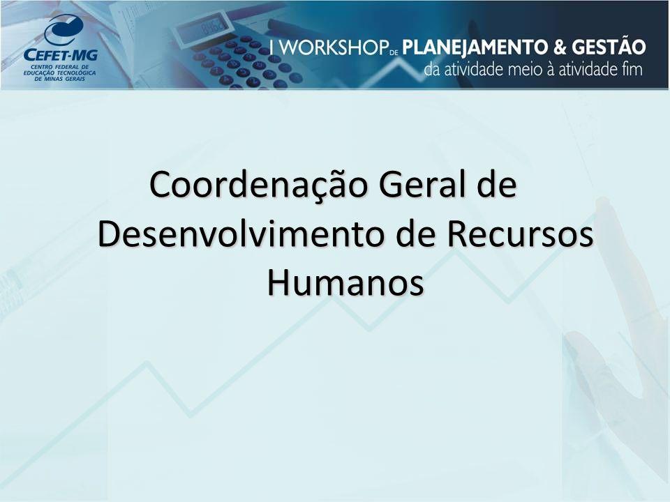 CGDRH Área de desenvolvimento Área de Saúde (SMOD) e Qualidade de Vida Representantes nas unidades do interior Assistente