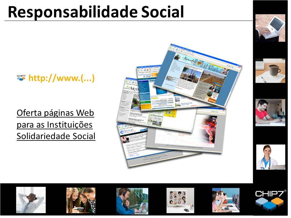 http://www.(...) Oferta páginas Web para as Instituições Solidariedade Social Responsabilidade Social