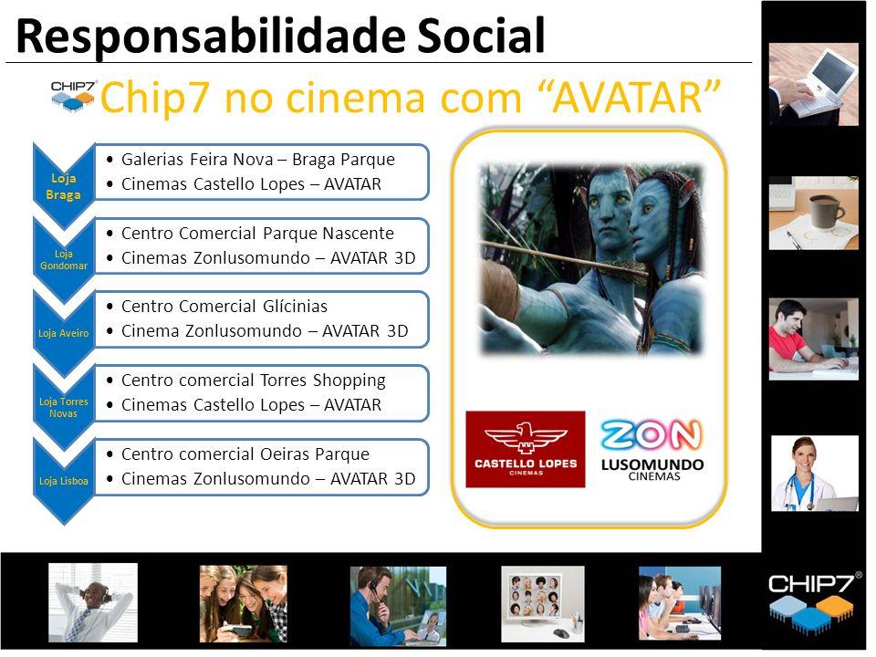 Loja Braga Galerias Feira Nova – Braga Parque Cinemas Castello Lopes – AVATAR Loja Gondomar Centro Comercial Parque Nascente Cinemas Zonlusomundo – AV