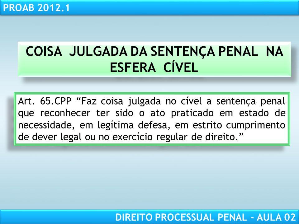 RESPONSABILIDADE CIVIL AULA 1 PROAB 2012.1 DIREITO PROCESSUAL PENAL – AULA 02 JECRIM COMPETÊNCIA DO JÚRI Art.
