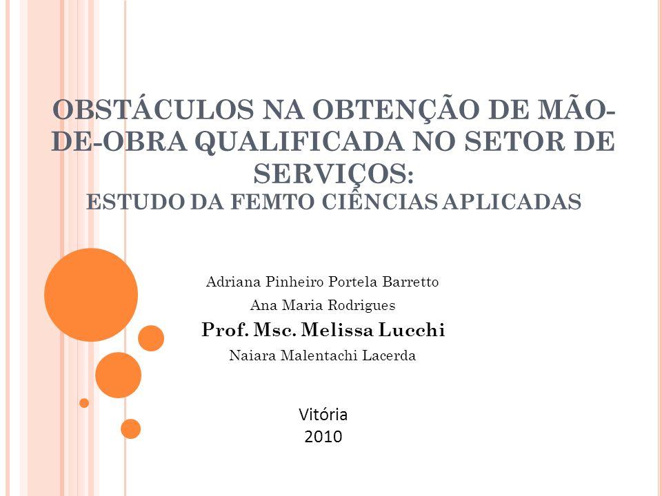 S OBRE OS AUTORES Melissa Lucchi é mestre em Administração pela UFES, especialista em Gestão Estratégica em Assessoria de Comunicação, graduada em Comunicação Social/Jornalismo pela UFES e professora parcial da Universidade do Vale do Paraíba (Univap), em SJC, SP.