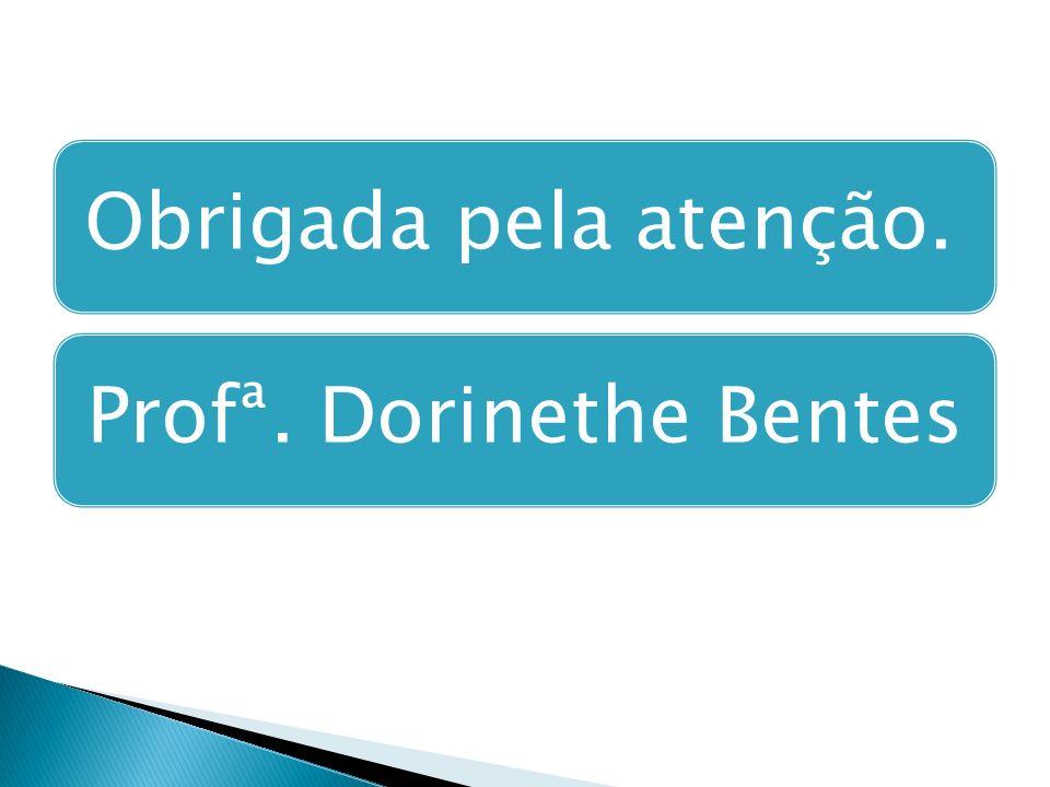 Obrigada pela atenção.Profª. Dorinethe Bentes