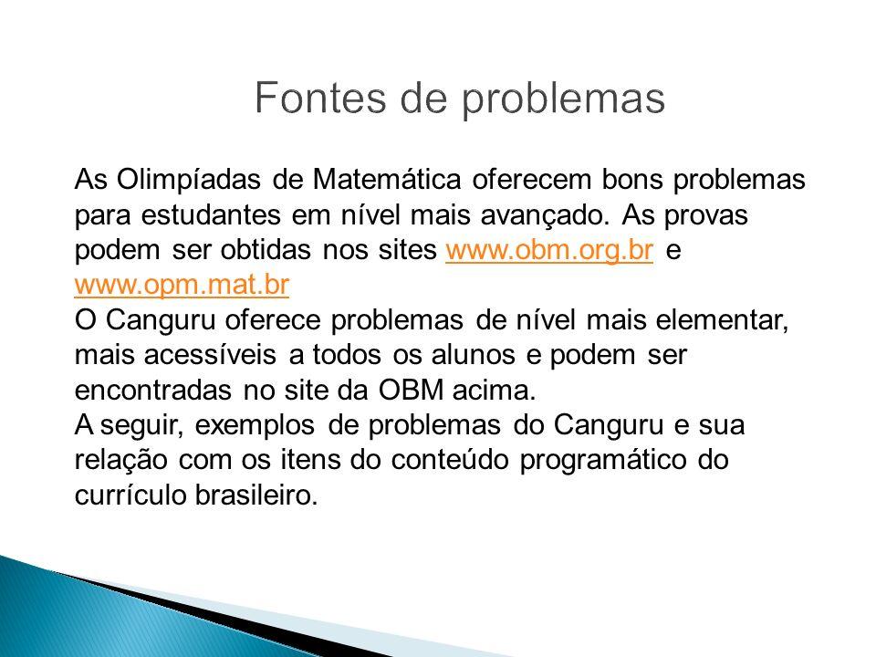 Canguru 2009 – Cadet – Ensino Fundamental II 21.