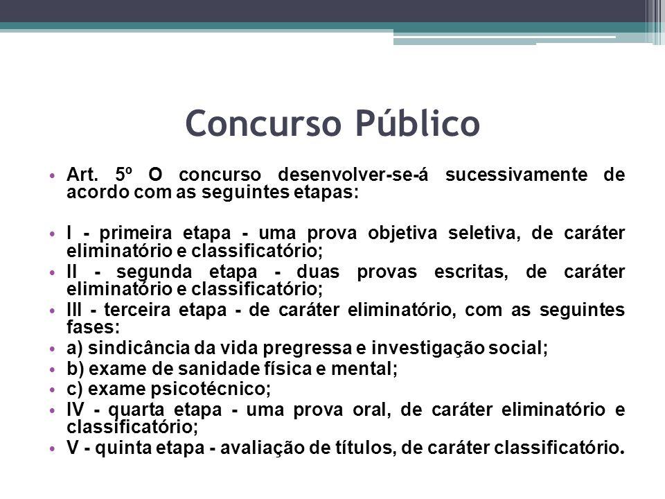 Concurso Público Art.