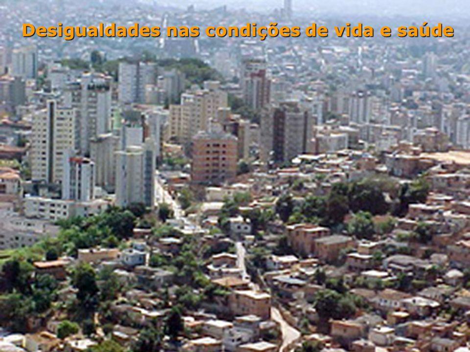 Desigualdades nas condições de vida e saúde