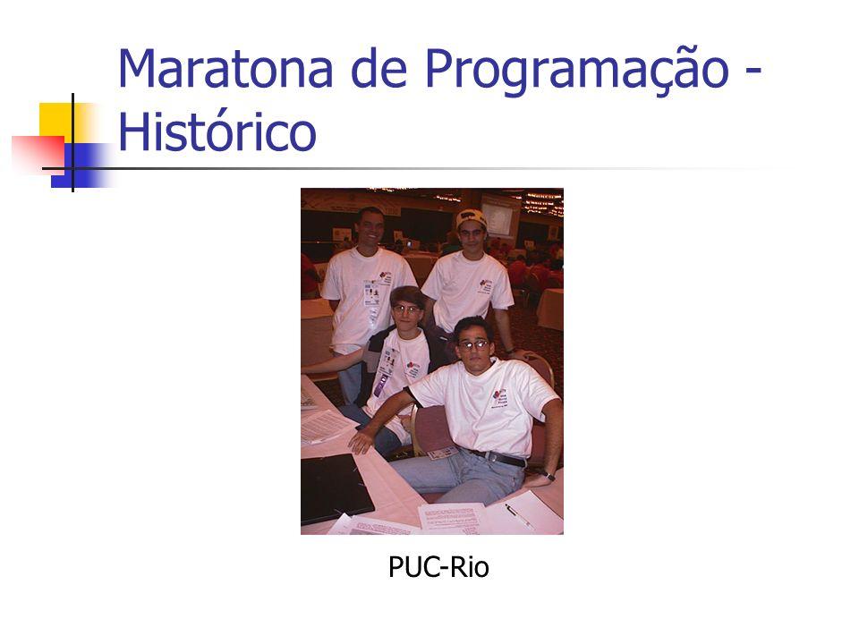 Maratona de Programação - Histórico PUC-Rio