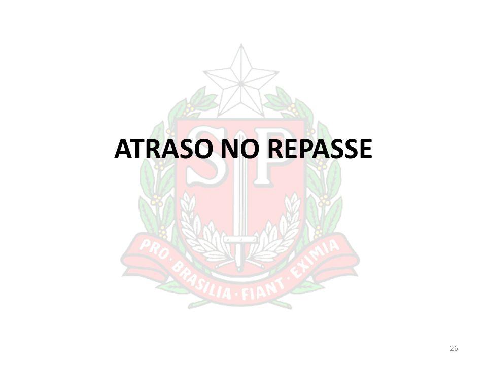 ATRASO NO REPASSE 26
