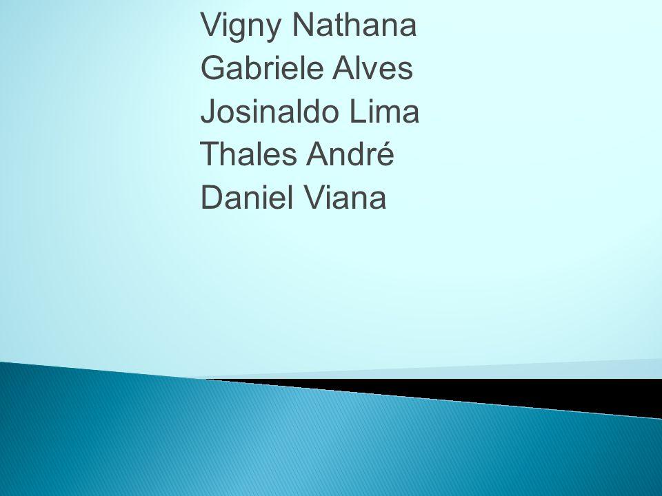 Vigny Nathana Gabriele Alves Josinaldo Lima Thales André Daniel Viana