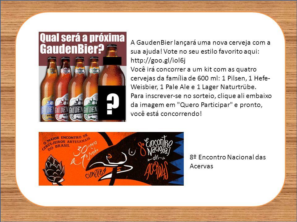 A GaudenBier lançará uma nova cerveja com a sua ajuda! Vote no seu estilo favorito aqui: http://goo.gl/iol6j Você irá concorrer a um kit com as quatro
