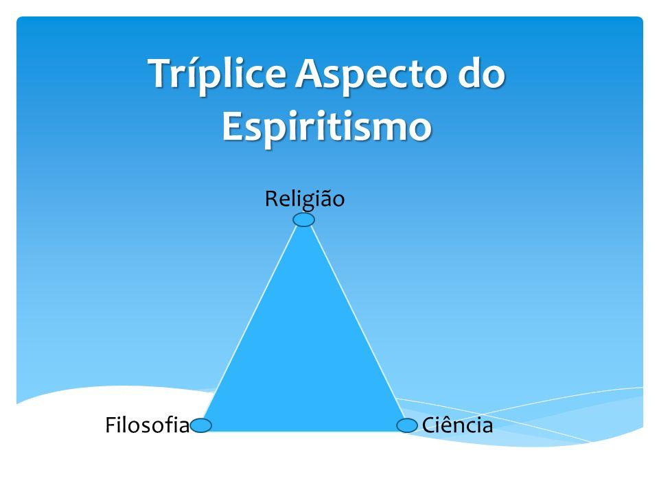 Tríplice Aspecto do Espiritismo Religião FilosofiaCiência