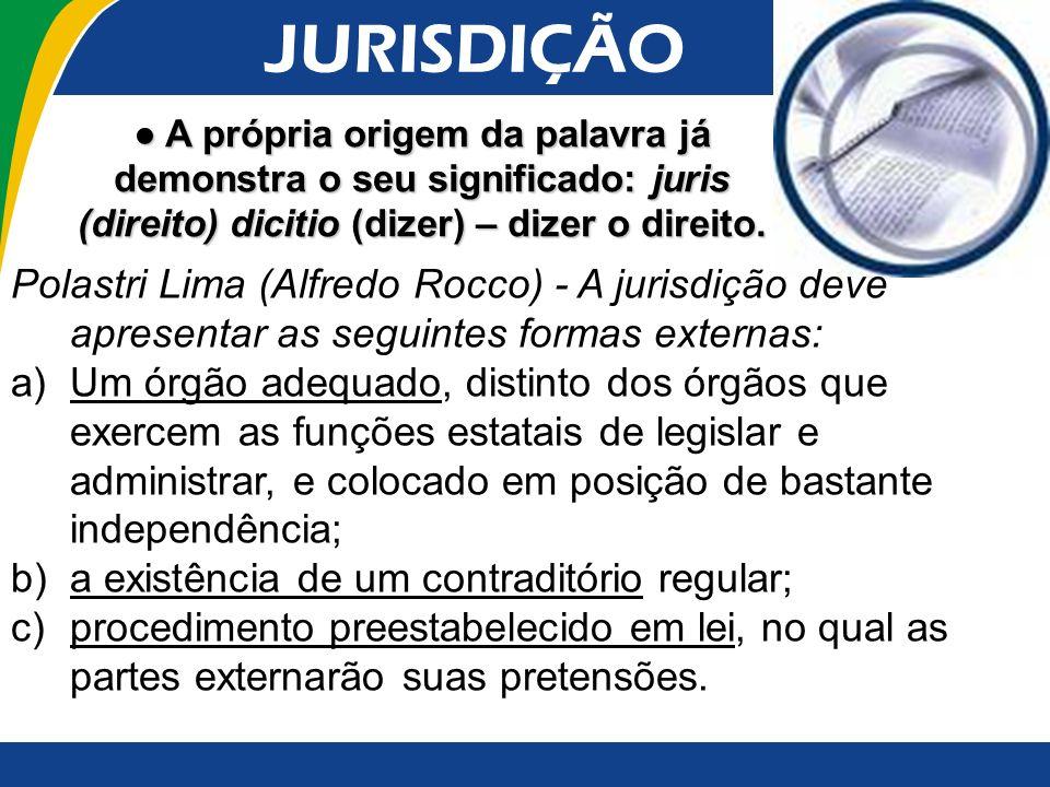 3.PRINCÍPIOS DA JURISDIÇÃO A.