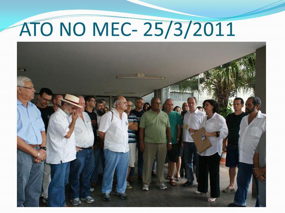 ATO NO MEC- 25/3/2011