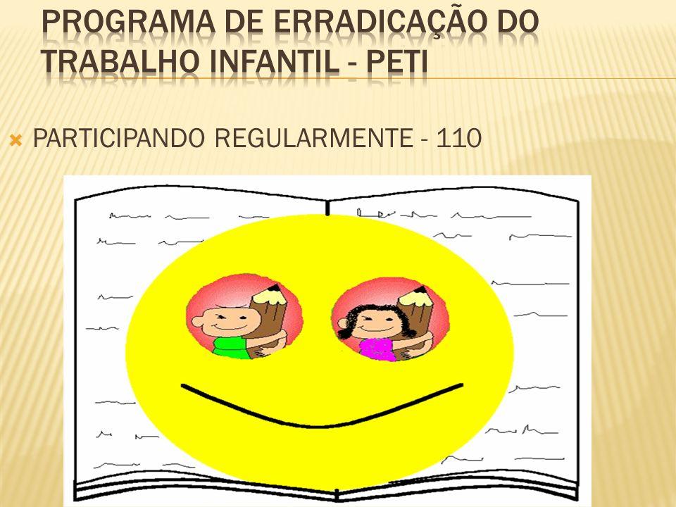 PARTICIPANDO REGULARMENTE - 110