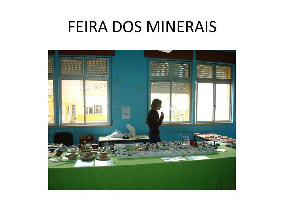 FEIRA DOS MINERAIS