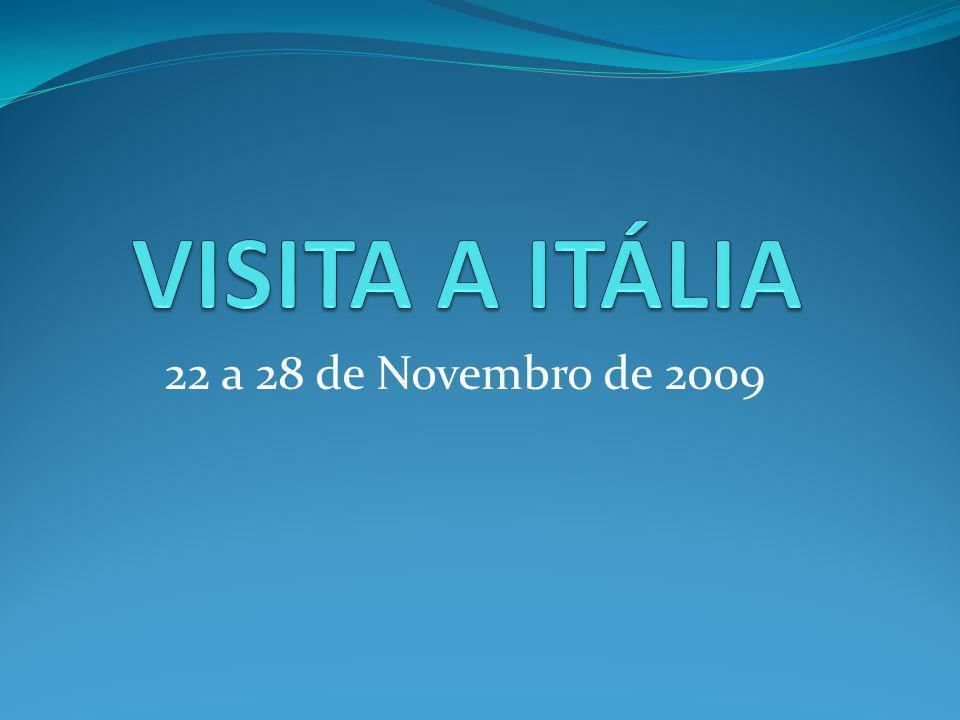 22 a 28 de Novembro de 2009
