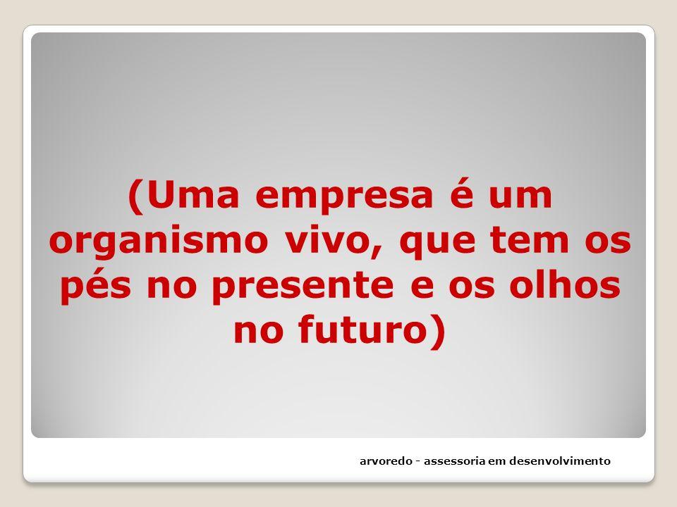 (Uma empresa é um organismo vivo, que tem os pés no presente e os olhos no futuro) arvoredo - assessoria em desenvolvimento