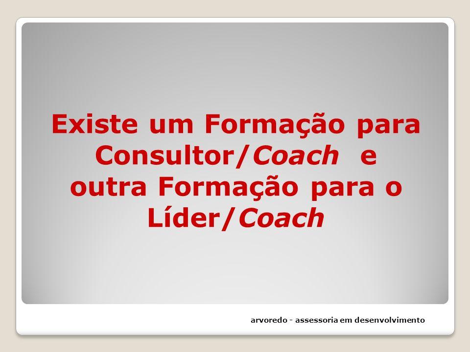 Existe um Formação para Consultor/Coach e outra Formação para o Líder/Coach arvoredo - assessoria em desenvolvimento