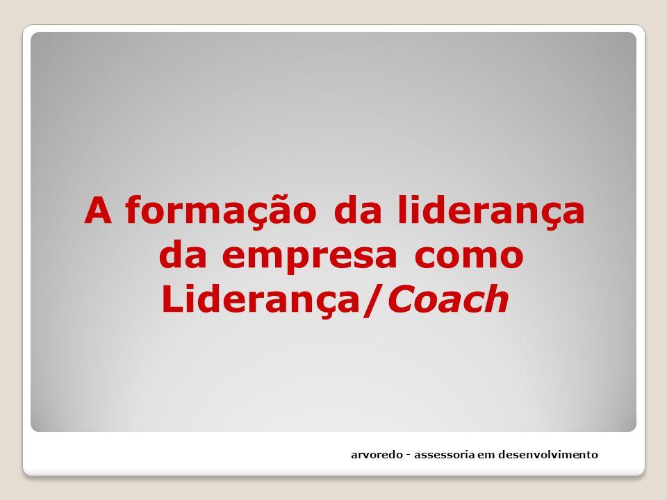 A formação da liderança da empresa como Liderança/Coach arvoredo - assessoria em desenvolvimento