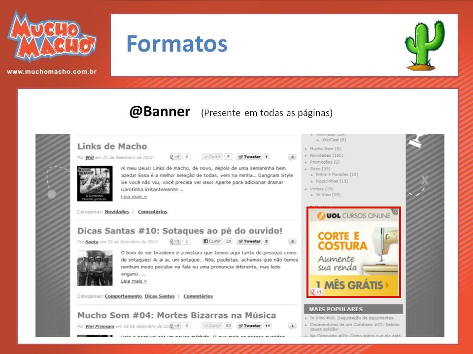 Formatos @Banner (Presente em todas as páginas)