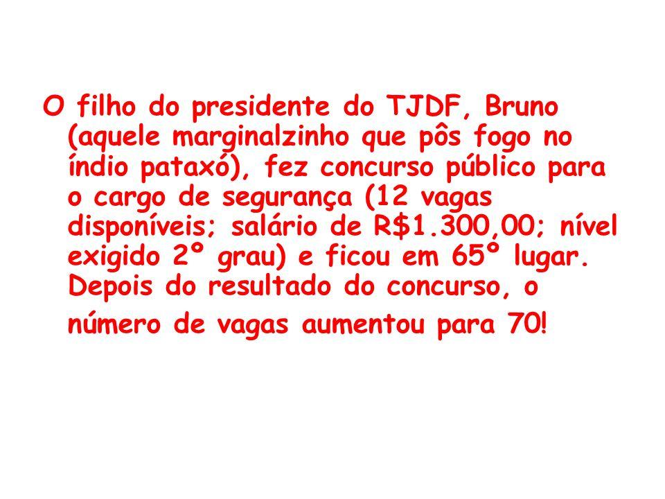 Nomeado com louvor , este foi o título da reportagem do Correio Brasiliense do dia 22/12/02, a respeito da seguinte situação: