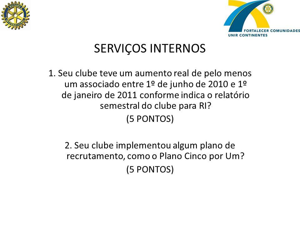 SERVIÇOS INTERNOS 1.