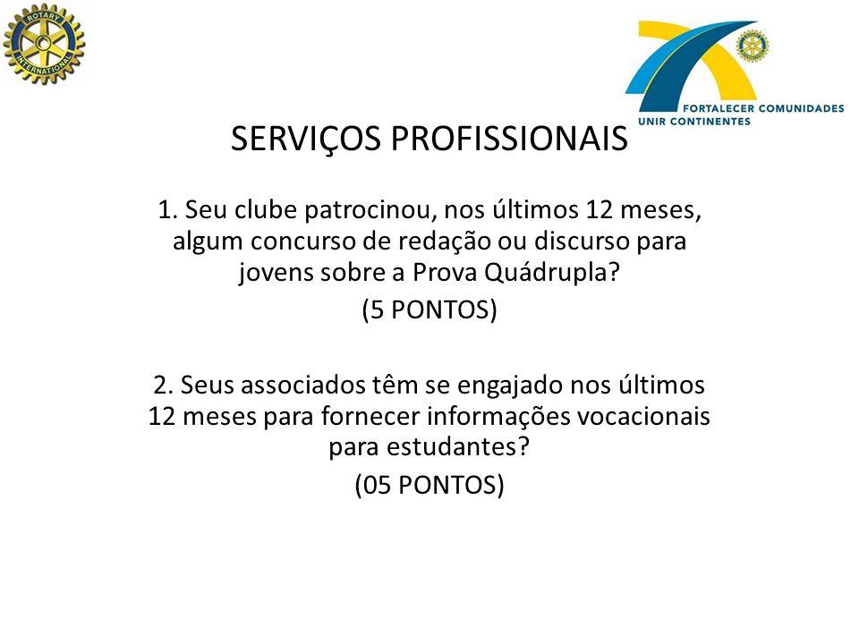 SERVIÇOS INTERNACIONAIS 3.