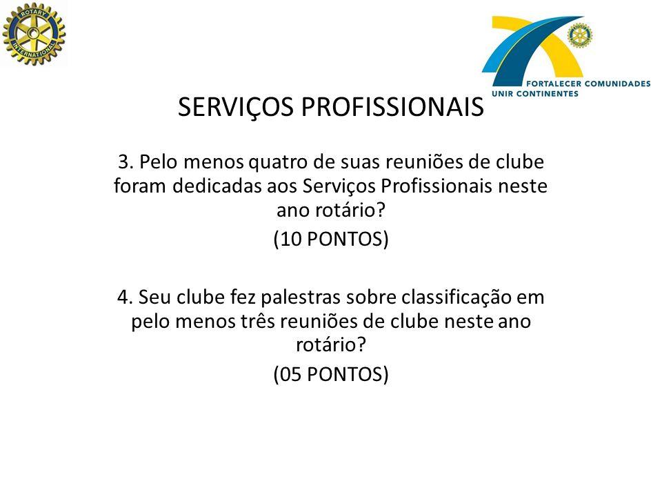 SERVIÇOS INTERNACIONAIS 5.
