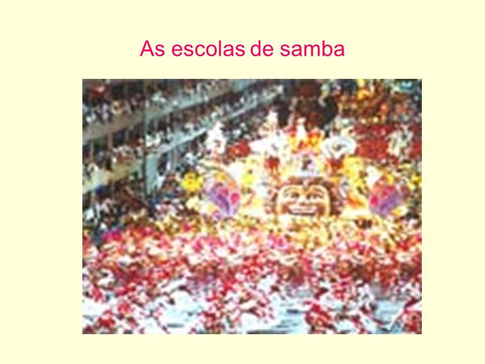 As escolas de samba
