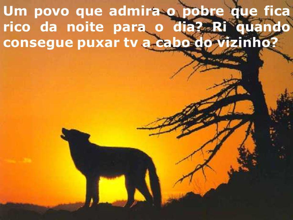 Um povo que aplaude o vencedor do Big Brother, mas não sabe o nome de uma escritor brasileiro?