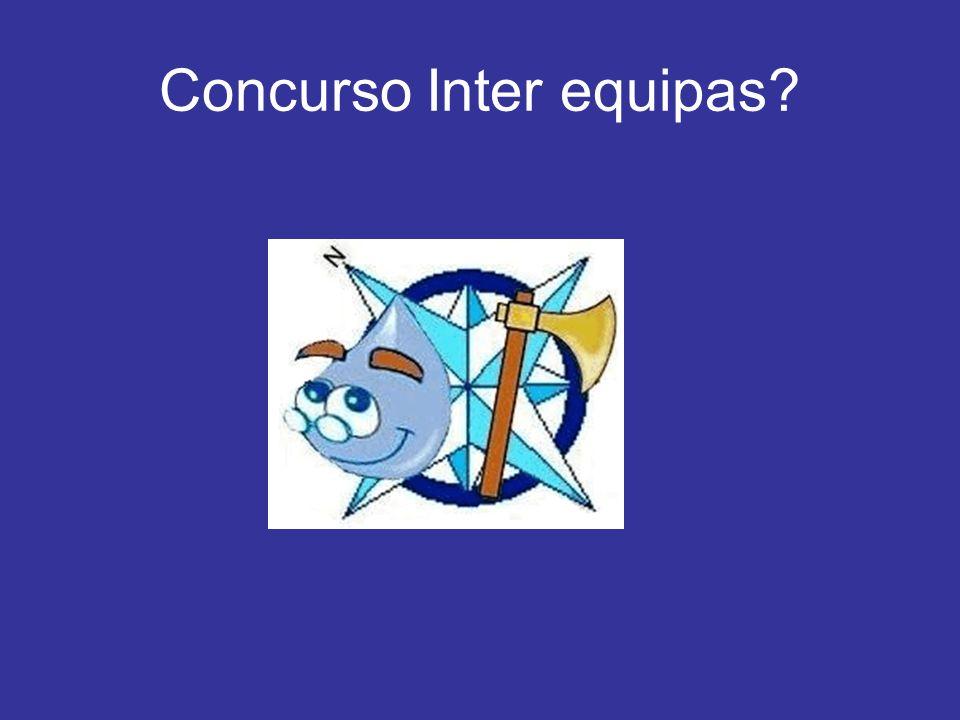 Concurso Inter equipas?