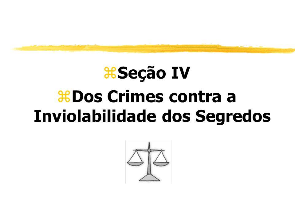 zSeção IV zDos Crimes contra a Inviolabilidade dos Segredos