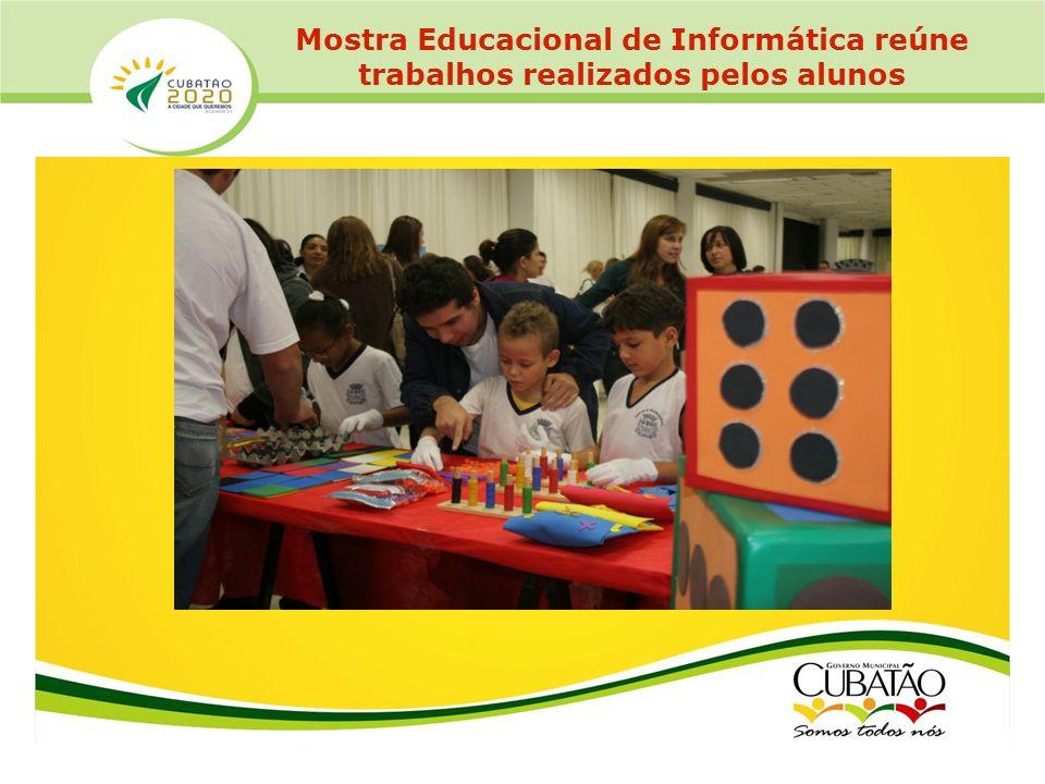 Mostra Educacional de Informática reúne trabalhos realizados pelos alunos