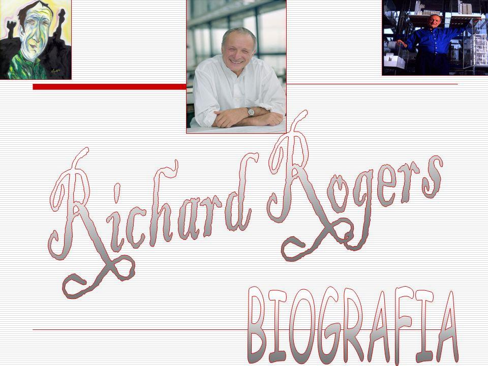 Richard Rogers nasceu em Florença, Itália, em 23 de julho de 1933; Estudou de 1954-1959 na Academia de Associação de Arquitetos em Londres; Após formar-se foi para os Estados Unidos com sua esposa Sue Brumwell, que era companheira de trabalho e, junto com Norman Foster mestre da arquitetura, fez pós-graduação na universidade de Yale em New Haven em 1962; Em 1960 á 1962 conheceu a obra de Louis Kahn e Frank Lloyd Wright, e colobarou com Foster em um projeto de mega estrutura; Em 1963 voltou a Inglaterra onde fundou, com sua mulher Su e a união com Foster o Grupo 4, um pequeno estúdio de vanguarda;