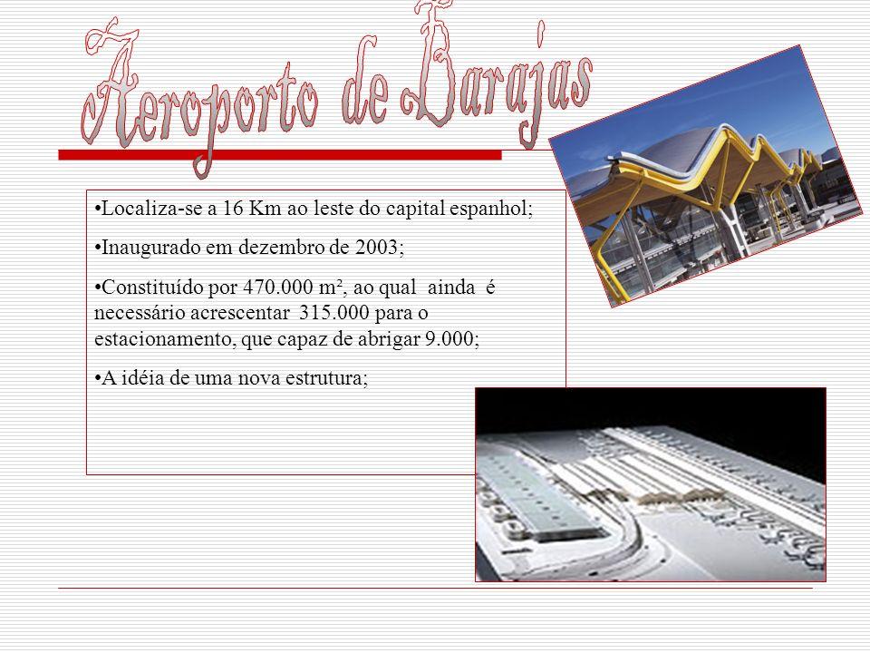 Localiza-se a 16 Km ao leste do capital espanhol; Inaugurado em dezembro de 2003; Constituído por 470.000 m², ao qual ainda é necessário acrescentar 3