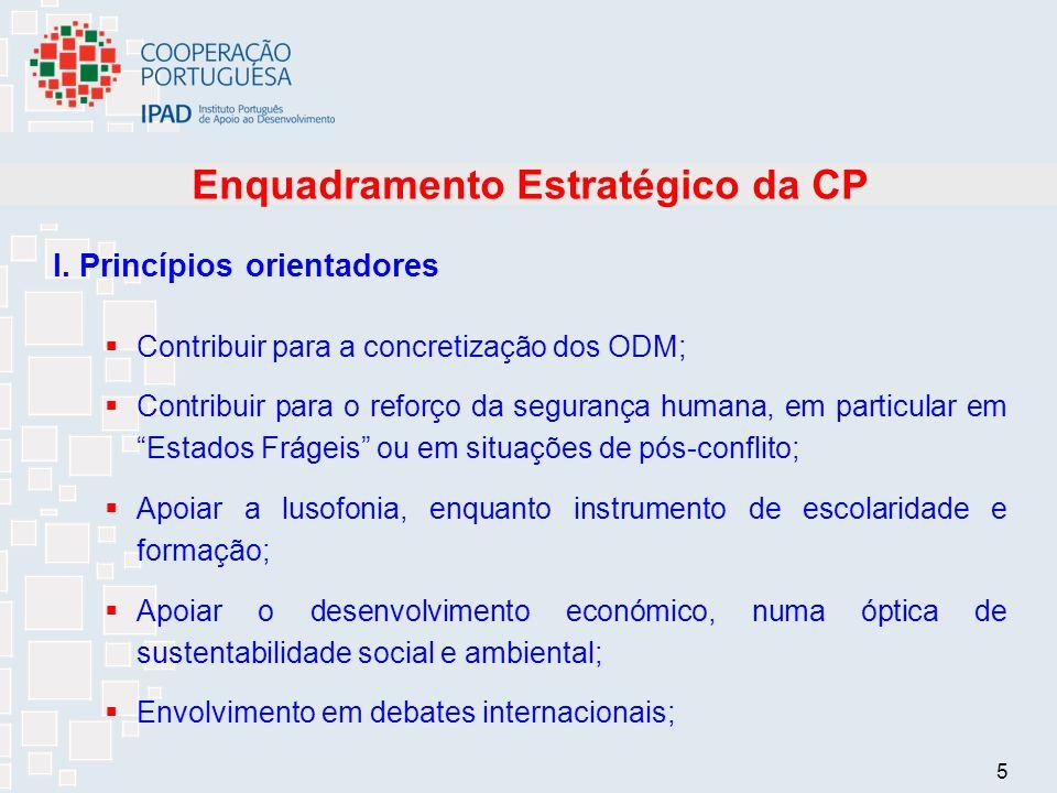 5 Enquadramento Estratégico da CP I.