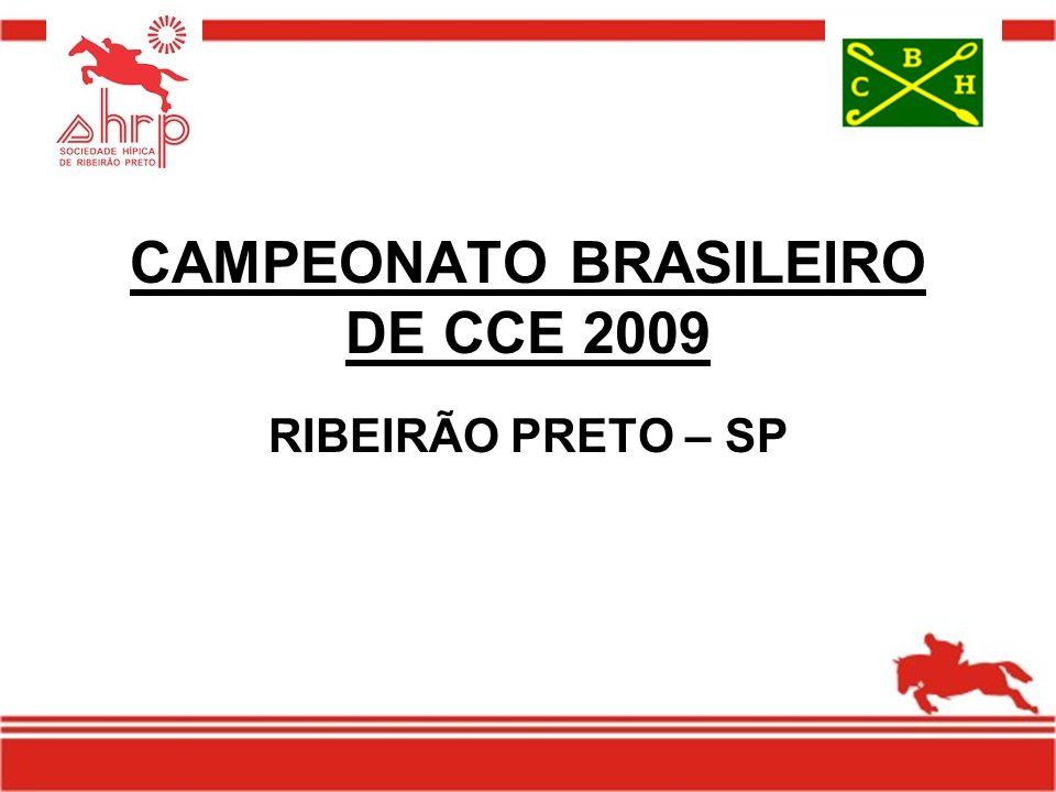CAMPEONATO BRASILEIRO DE CCE 2009 RIBEIRÃO PRETO – SP
