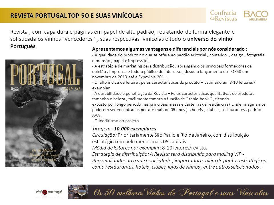 Tiragem : 10.000 exemplares Circulação: Prioritariamente São Paulo e Rio de Janeiro, com distribuição estratégica em pelo menos mais 05 capitais. Médi