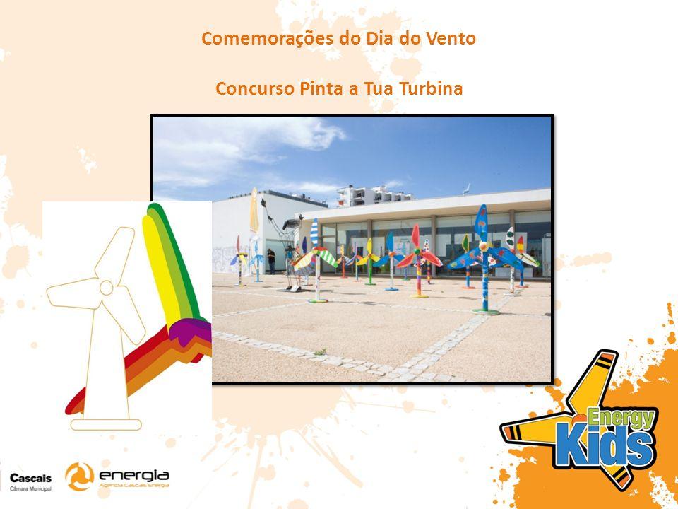 Comemorações do Dia do Vento Concurso Pinta a Tua Turbina