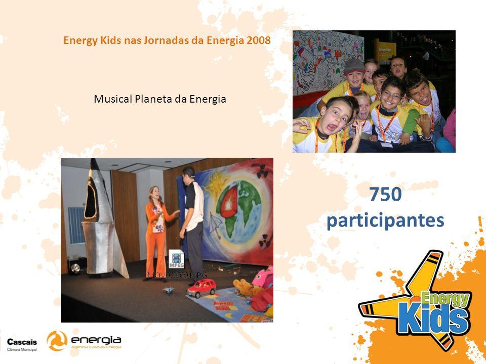 Energy Kids nas Jornadas da Energia 2008 Musical Planeta da Energia 750 participantes