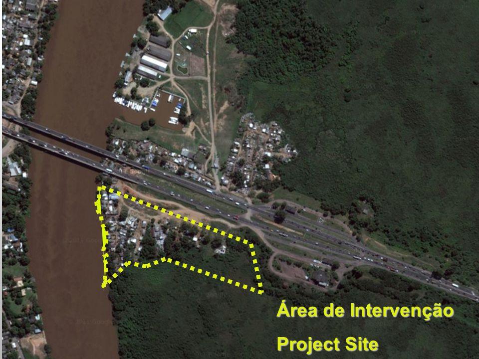Área de Intervenção Project Site
