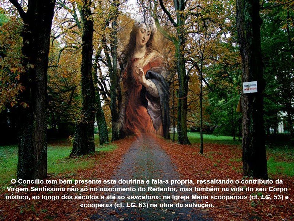 O casal dos progenitores empreendera a via do pecado; um novo casal, o Filho de Deus com a colaboração da Mãe, haveria de restabelecer o gênero humano