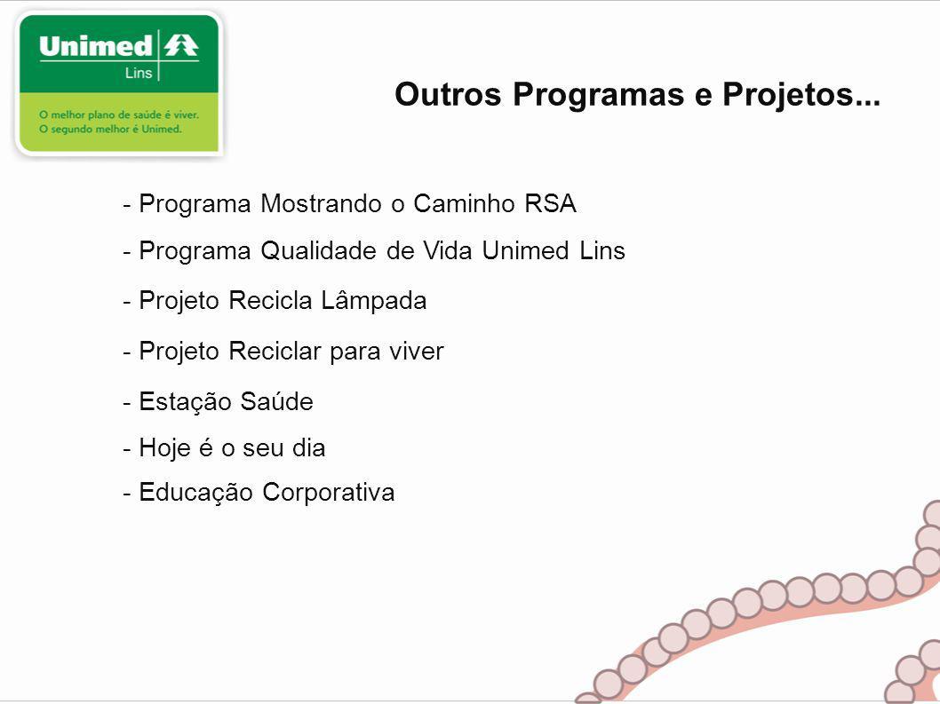 Outros Programas e Projetos...