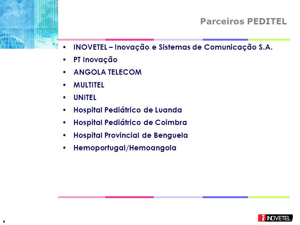44 Parceiros PEDITEL INOVETEL – Inovação e Sistemas de Comunicação S.A.