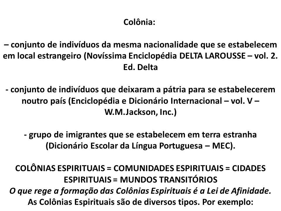 Para certas pessoas convencidas da existência do Espírito – e aqui não cogito de outras – deve ser motivo de espanto que, como nós, Espíritos tenham suas habitações e as suas cidades.