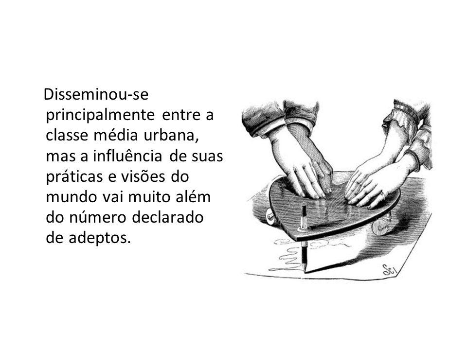 Hoje, o Brasil, apesar de majoritariamente católico é o país no mundo onde o espiritismo alcançou sua maior dimensão.