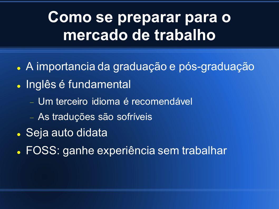 Como se preparar para o mercado de trabalho A importancia da graduação e pós-graduação Inglês é fundamental Um terceiro idioma é recomendável As tradu